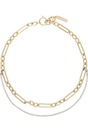Justine Clenquet Gold Paloma Necklace