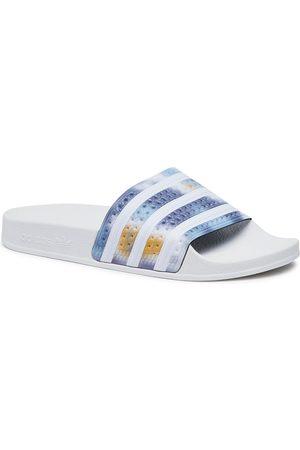 Adidas Damen Clogs & Pantoletten - Adilette W H00151 Ftwwht/Ftwwht/Sonink