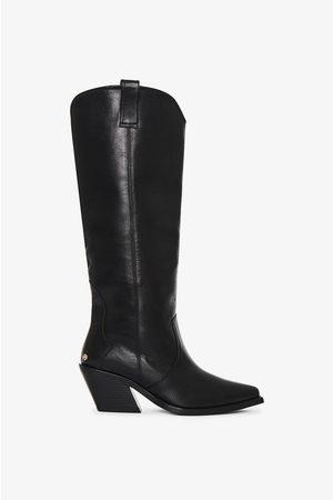 ANINE BING Tall Tania Boots in Black