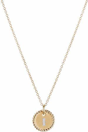 David Yurman Initial I pendant necklace