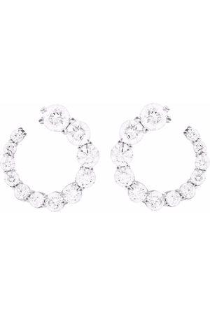 Melissa Kaye 18kt Aria Weißgoldohrstecker mit Diamanten