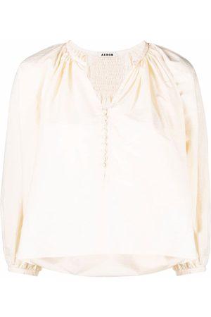 AERON Drapierte Bluse