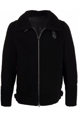 SALVATORE SANTORO Shearling shirt jacket