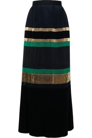 Kolor Faltenrock mit hohem Bund