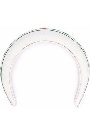 Casablanca Stirnband mit Logo-Schild