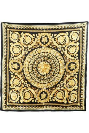 VERSACE Barocco silk scarf , Damen, Größe: One size
