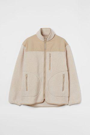 H & M Herren Jacken - Jacke aus Lammfellimitat