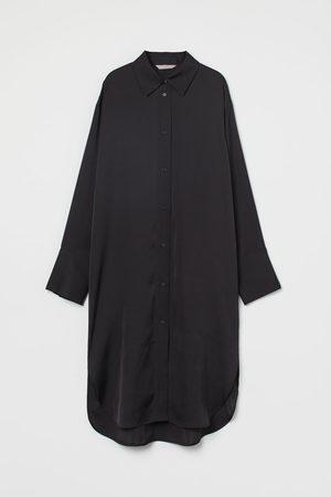 H & M Oversized Blusenkleid