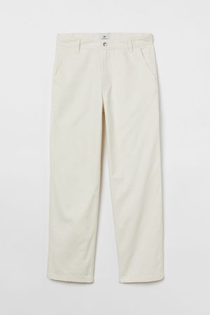 H & M Twillhose Relaxed Fit