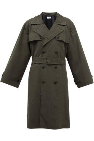 Raey Herren Trenchcoats - Oversized Cotton-blend Trench Coat