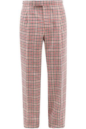 Thom Browne Houndstooth-check Wool Suit Trousers