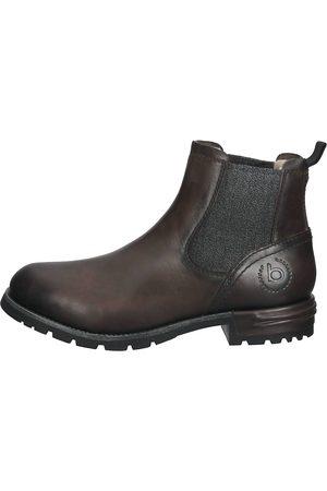 Bugatti Herren Chelsea Boots - Stiefelette in dunkelgrau, Stiefel für Herren