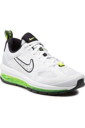 Nike Herren Halbschuhe - Air Max Genome DB0249 100 White/Black/Volt/Pure Platinum