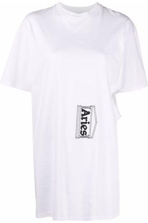 ARIES T-Shirt mit Logo-Print