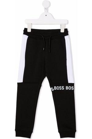 HUGO BOSS Jungen Jogginghosen - Jogginghose in Colour-Block-Optik