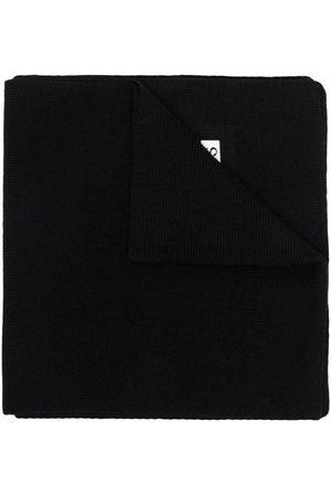 HUGO BOSS Mädchen Schals - Gestrickter Schal mit Logo-Patch