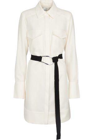 Victoria Victoria Beckham Langärmliges Minikleid aus Wolle
