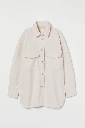 H&M Hemdjacke aus Fleece