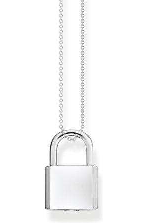 Thomas Sabo Halsketten - Kette Schloss silber mit Gravur