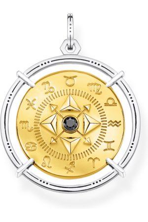 Thomas Sabo Anhänger - Anhänger Amulett Elements of Nature gold schwarz