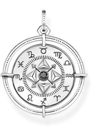 Thomas Sabo Anhänger - Anhänger Amulett Elements of Nature silber schwarz