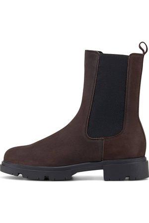 Another A Damen Stiefeletten - Chelsea Boot in dunkelbraun, Boots für Damen