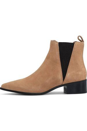 Another A Damen Stiefeletten - Chelsea Boot in mittelbraun, Boots für Damen