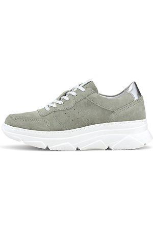 Cox Sneaker in mittelgrau, Sneaker für Damen