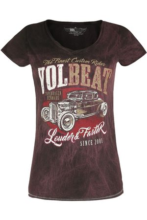 Volbeat Louder And Faster T-Shirt dunkelrot