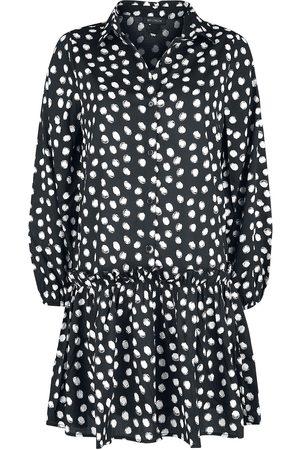 QED London TBC Tiered Shirt Dress Kurzes Kleid /weiß