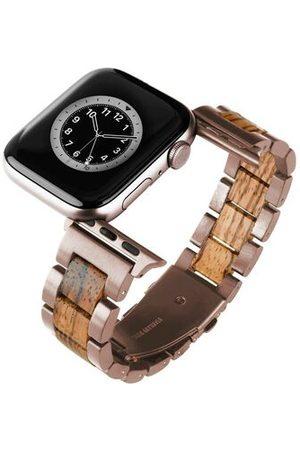 Laimer Smartwatch Armband passend für Apple-Watch, rose/zeb, 38/40
