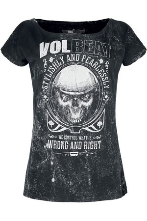 Volbeat Wrong and Right T-Shirt charcoal