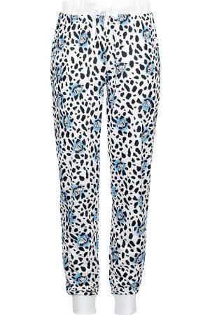 Disney Damen Schlafanzüge - Cruella de Vil Pyjama-Hose weiß/
