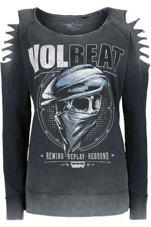 Volbeat Damen Sweatshirts - Bandana Skull Sweatshirt
