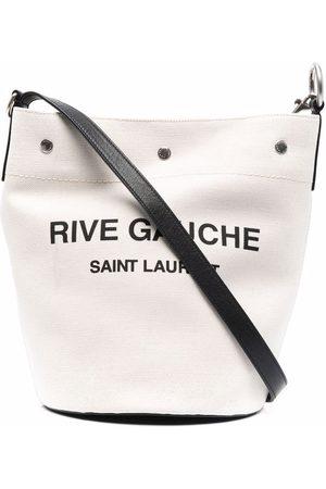 Saint Laurent Schultertasche mit Logo-Print