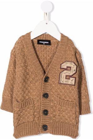Dsquared2 Checked knit cardigan