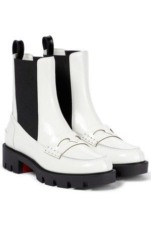 Christian Louboutin Ankle Boots Montezu aus Leder