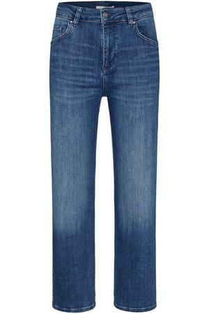 bugatti Damen Baggy & Boyfriend - 5-Pocket-Jeans aus elastischer Baumwollware in Relax Fit
