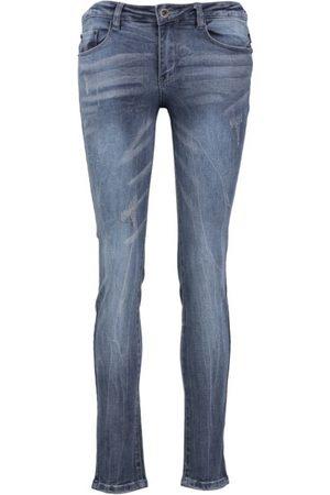 10 Feet Damen Slim - Slim-fit Jeans Knöchel
