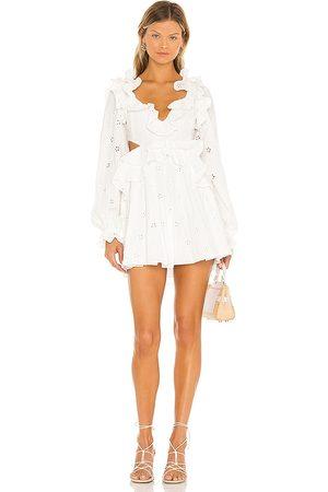 MAJORELLE Mariapia Mini Dress in . Size XXS, XS, S, M, XL.