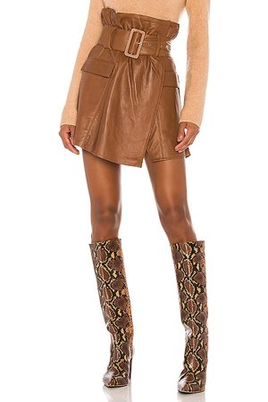 Song of Style Brandy Leather Skirt in . Size XXS, XS, S, XL.