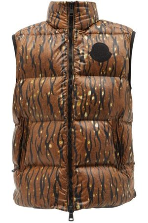 Moncler 1952 - Sumida Camouflage-print Quilted Nylon-laqué Gilet