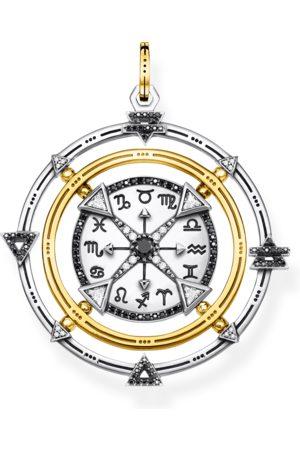 Thomas Sabo Anhänger Amulett Elements of Nature schwarz-gold mehrfarbig