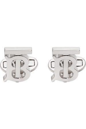 Burberry Silver Monogram Cufflinks