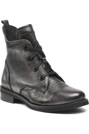 Eksbut Damen Stiefel - 7C-6266-E04 Czarno Srebrny
