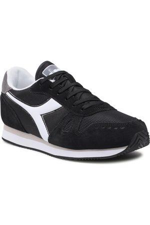 Diadora Herren Halbschuhe - Simple Run 101.173745 C3485 Black/Storm Gray