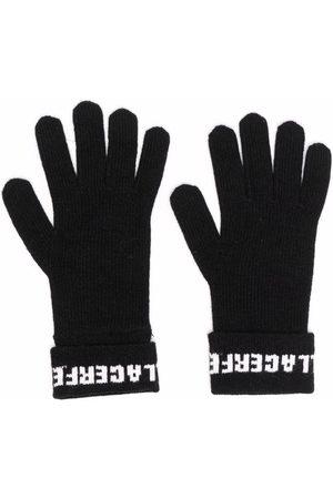 Karl Lagerfeld Gestrickte Handschuhe mit Logo
