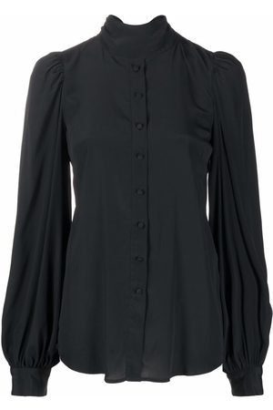 WANDERING Bluse mit Stehkragen