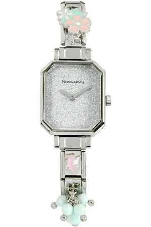Nomination Plated Stainless Steel Composable Watch w/Crystals , Damen, Größe: One size