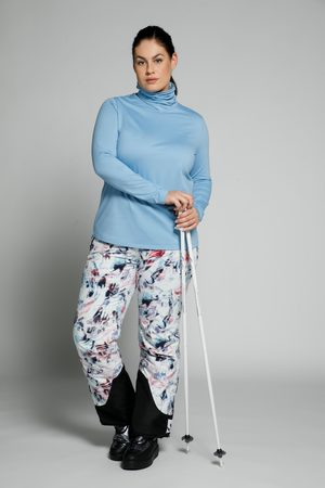 Ulla Popken Damen Skiunterwäsche - Ski-Funktionsshirt, Damen